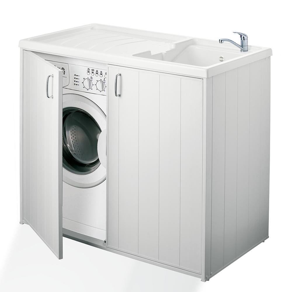 lavatoio con coprilavatrice