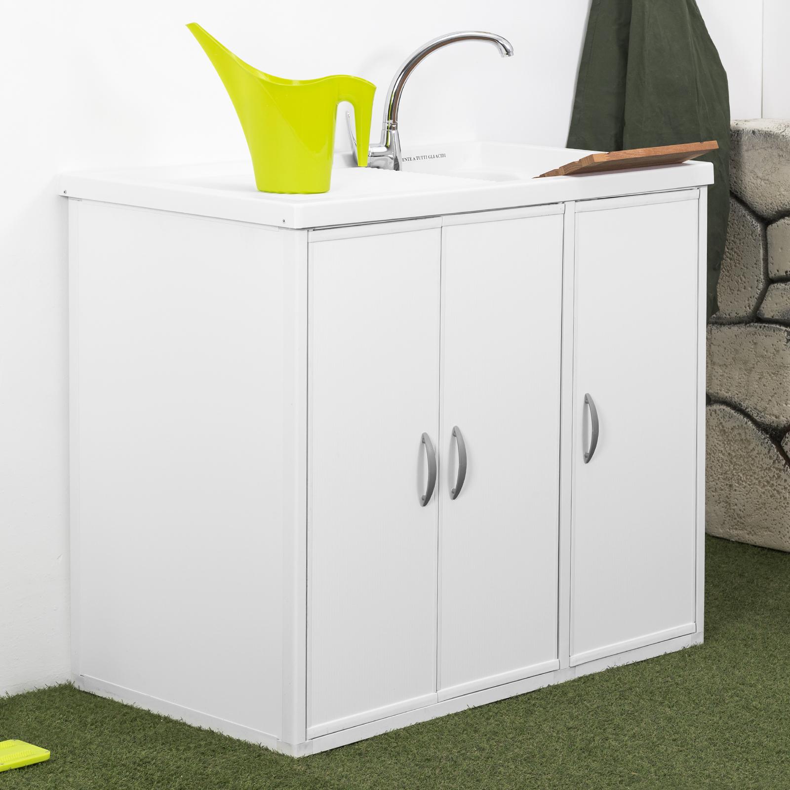 Lavatoio Per Bagno Lavanderia lavatoi da esterno: pratici, funzionali e salvaspazio