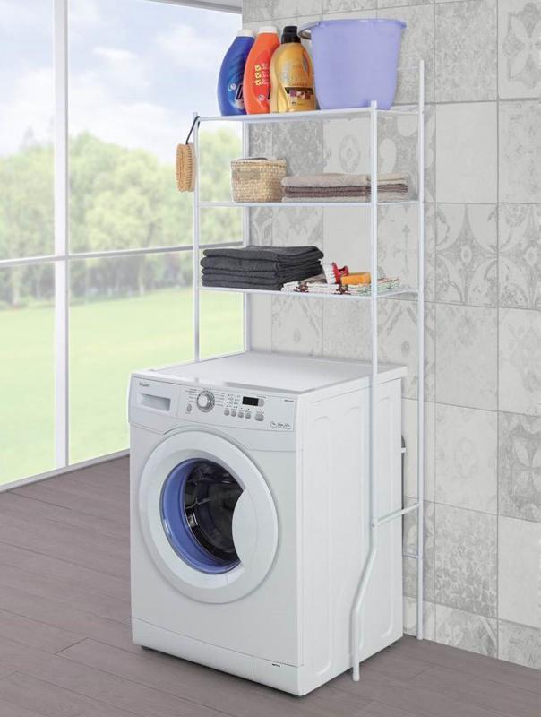 scaffale sopra lavatrice