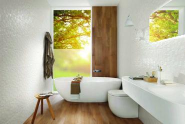 bagno in stile centro benessere
