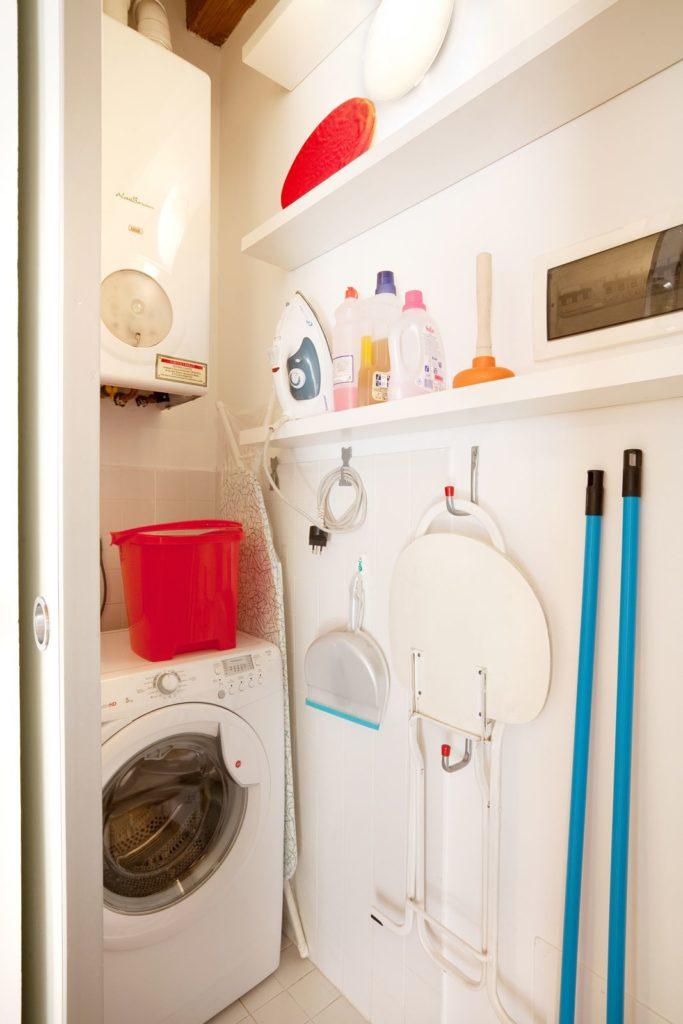 Disimpegno come lavanderia