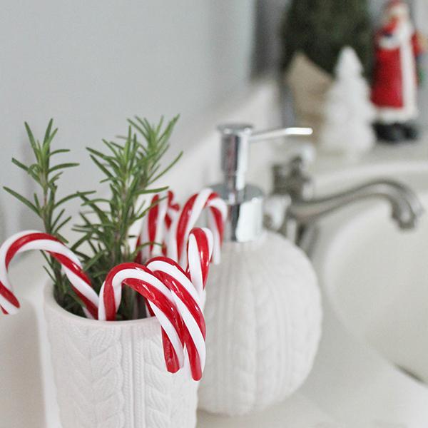 Decorazioni Natale Bagno