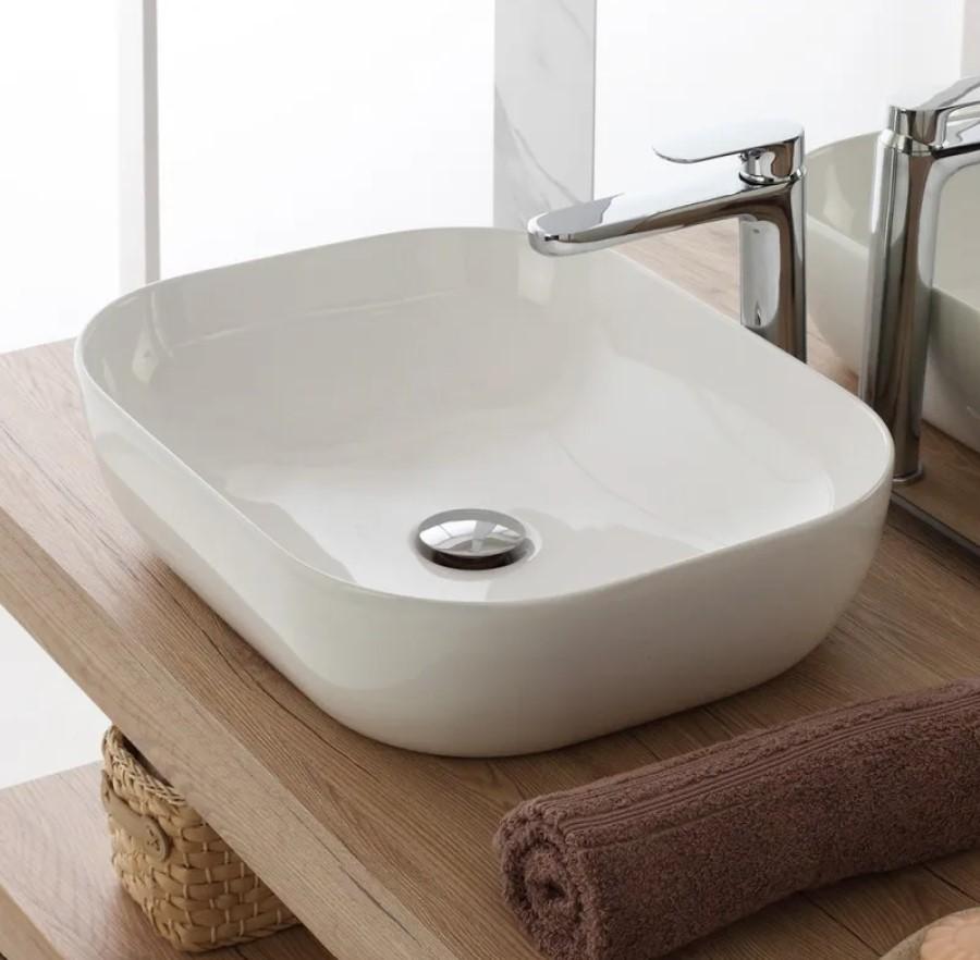 lavabo nell'arredo bagno moderno