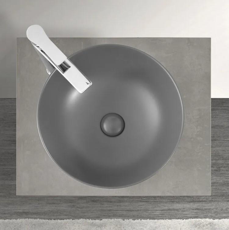 lavabo grigio